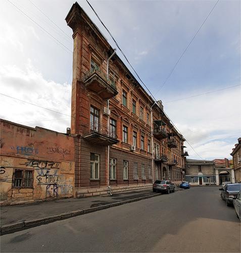 одесса дом с одной стеной фото